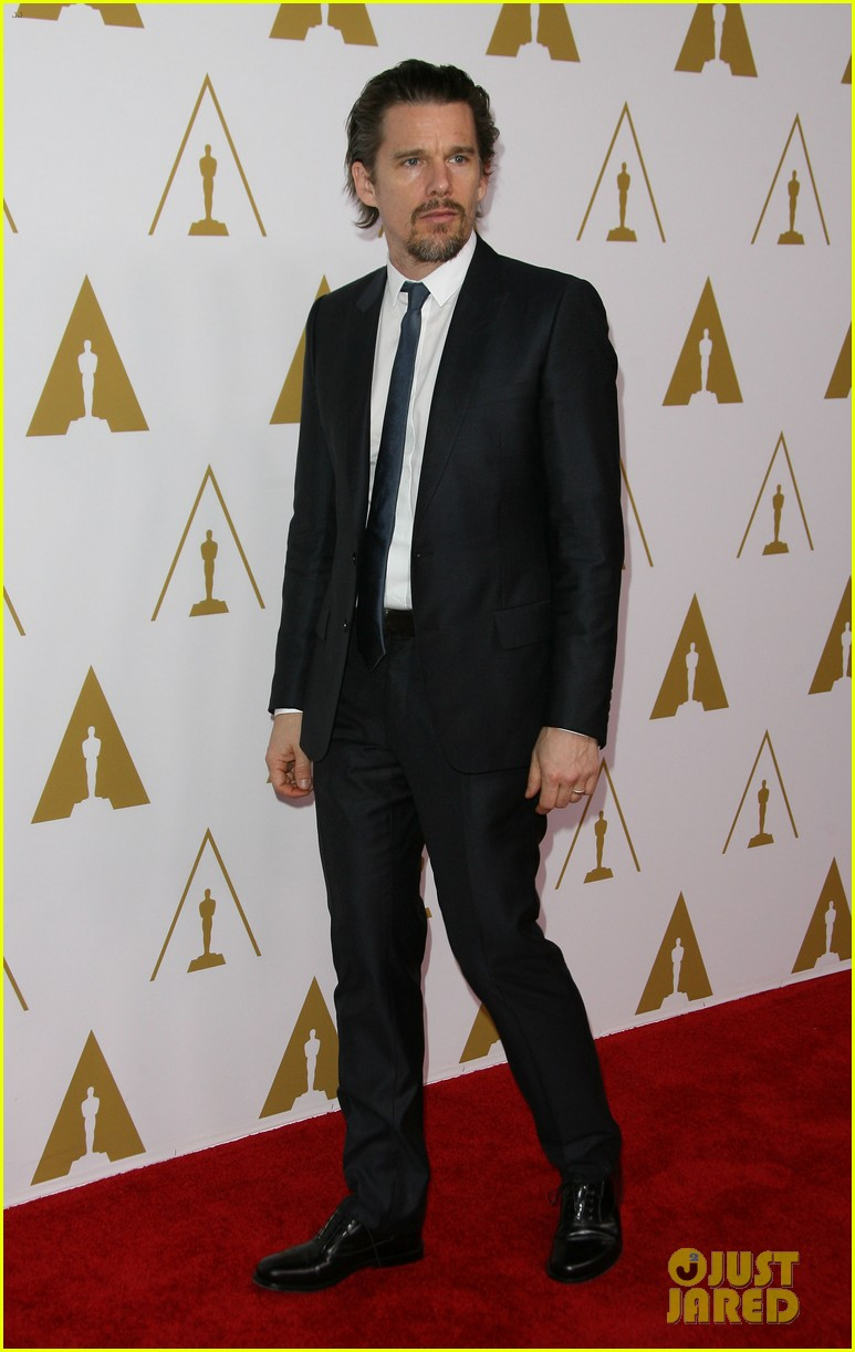 ethan hawke julie delpy oscars nominees luncheon 2014 093050856