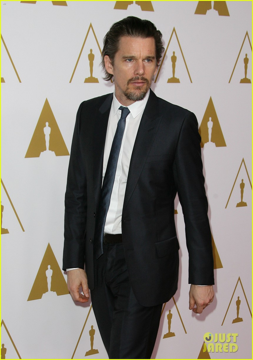 ethan hawke julie delpy oscars nominees luncheon 2014 103050857