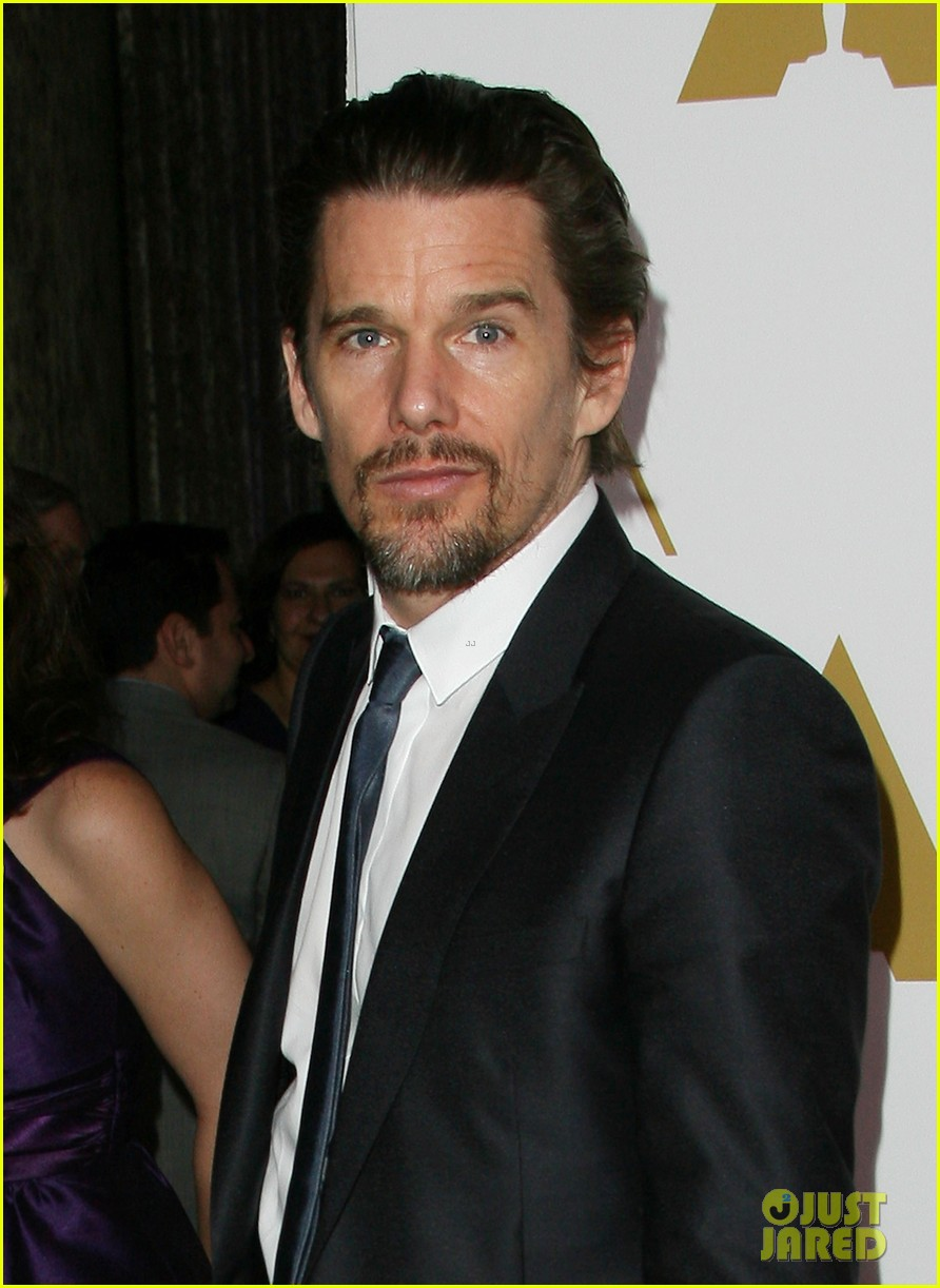 ethan hawke julie delpy oscars nominees luncheon 2014 113050858