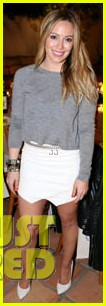 hilary duff how you glow event mike comrie parties in nyc 283045630