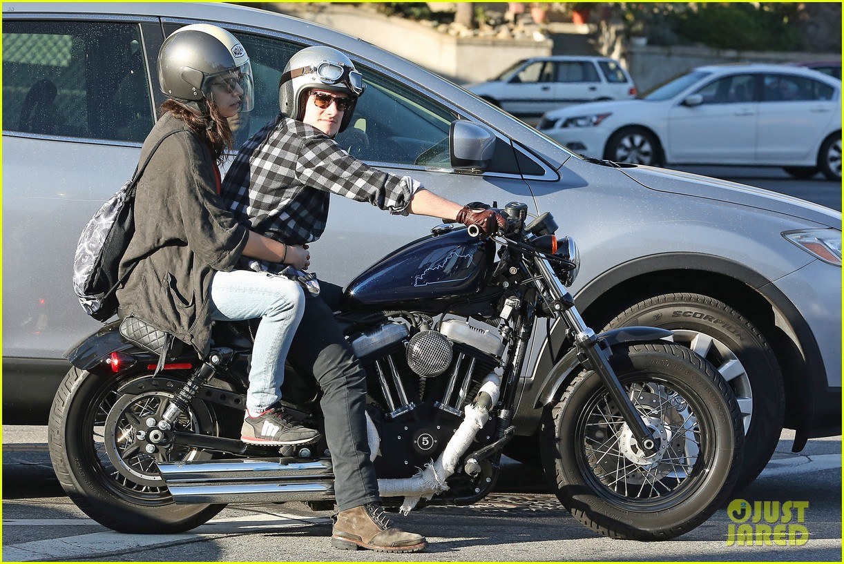 josh hutcherson goes for a motorcycle ride with a gal pal 023059653
