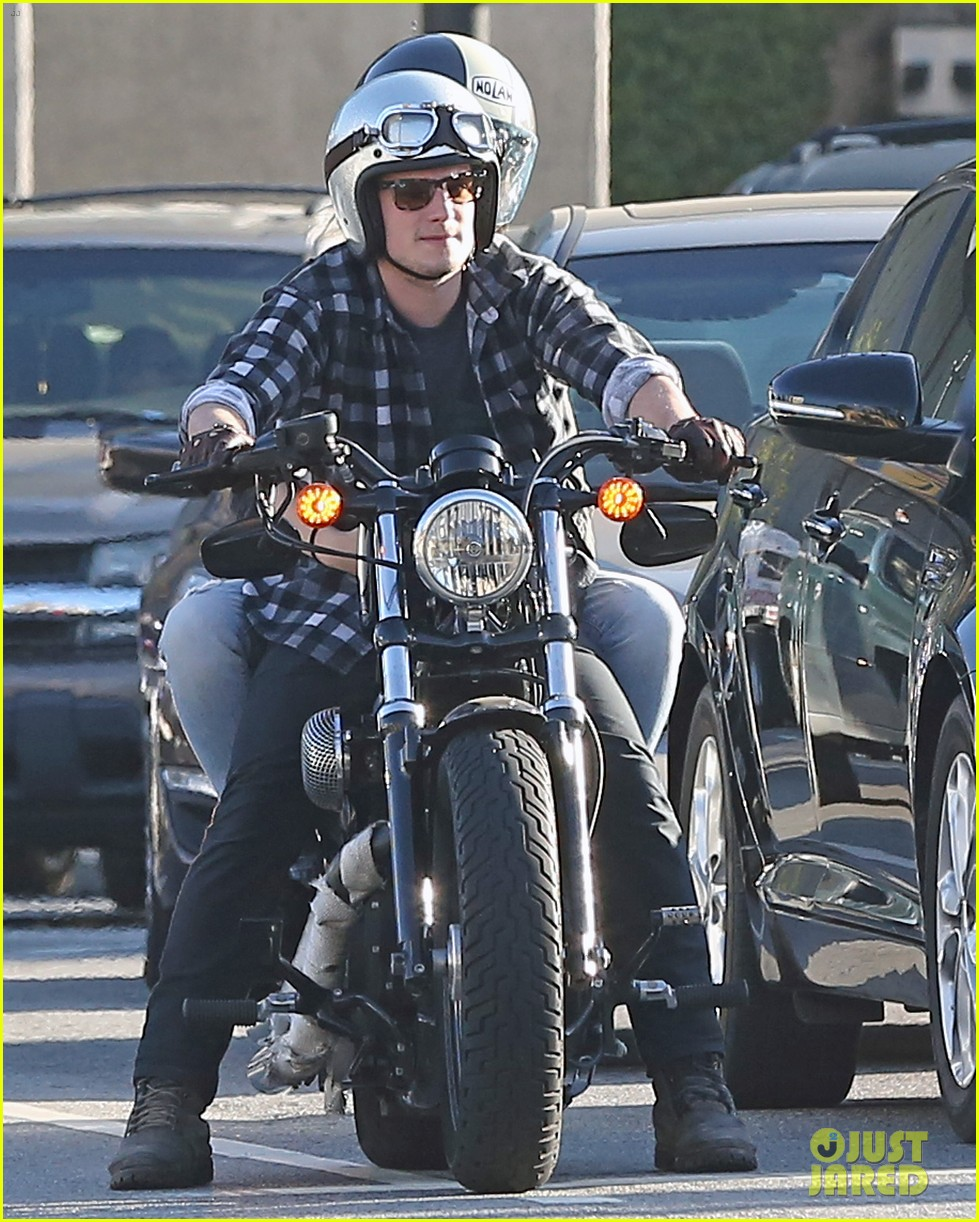 josh hutcherson goes for a motorcycle ride with a gal pal 103059661