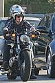 josh hutcherson goes for a motorcycle ride with a gal pal 12