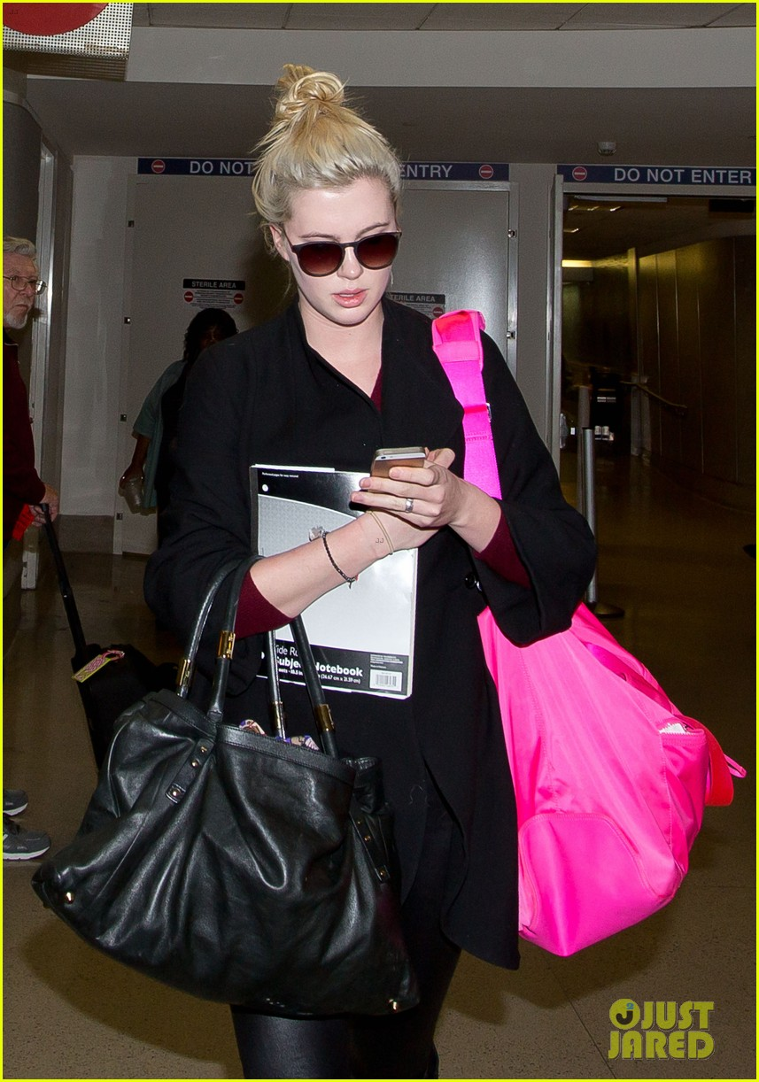 ireland baldwin heads back to los angeles after nyfw 04