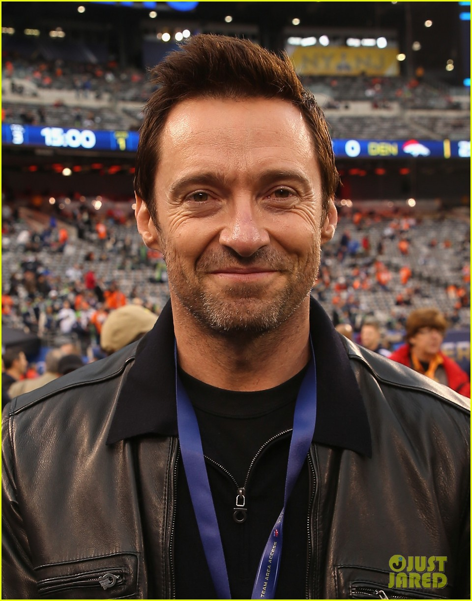 hugh jackman harry connick jr join in on the super bowl 2014 fun 013046595