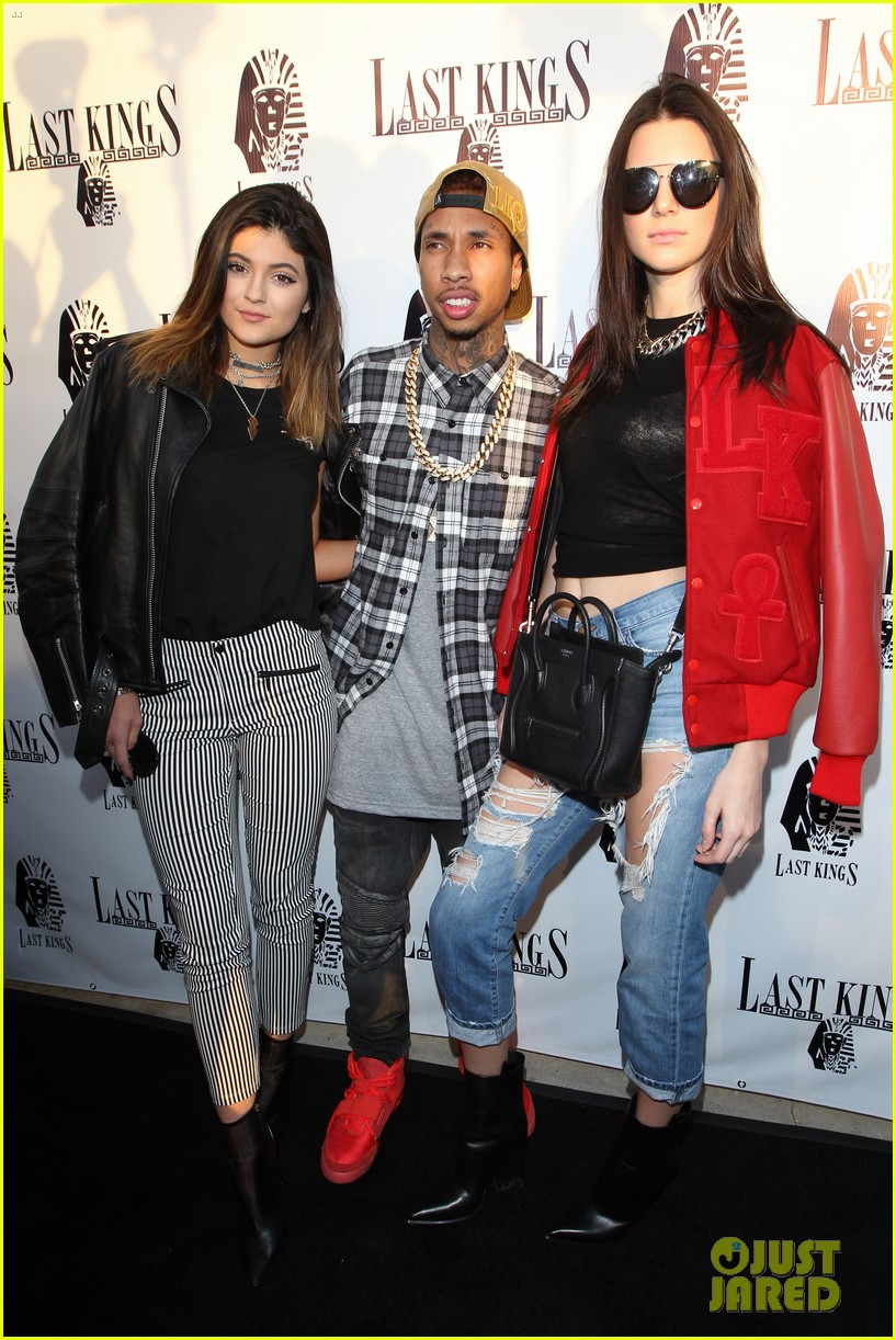 kendall kylie jenner tygas last kings store press preview 023057843