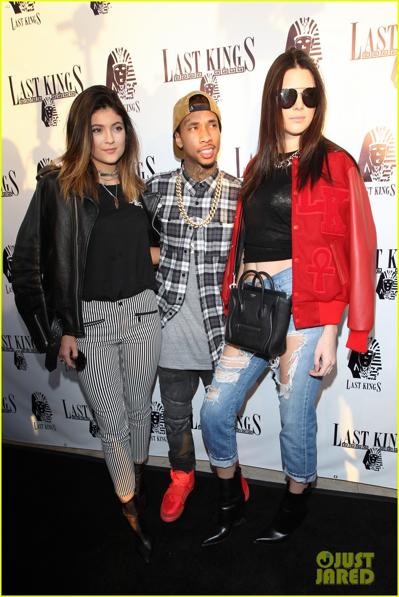 kendall kylie jenner tygas last kings store press preview 093057850