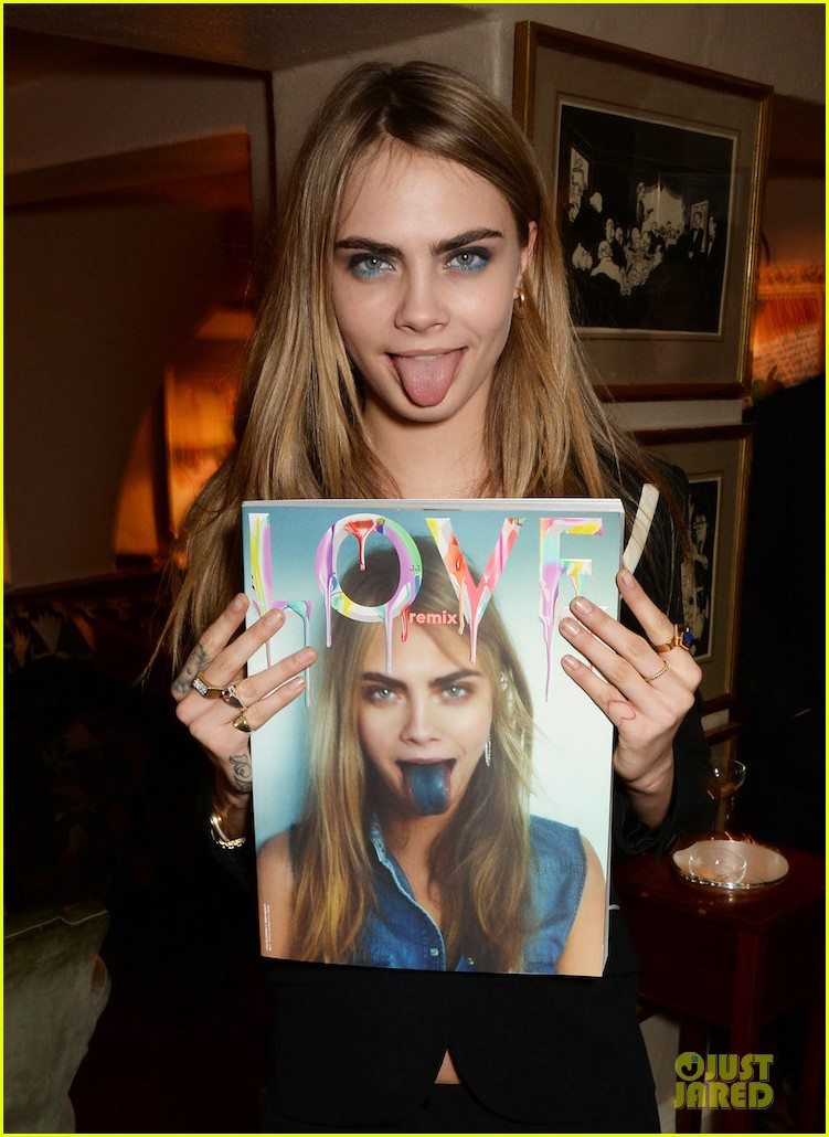 kendall jenner cara delevingne love remix party babes 043055779