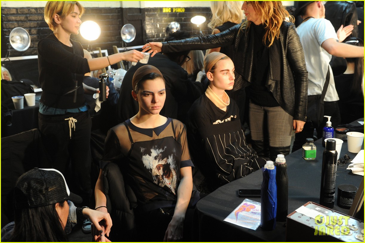 kendall jenner bares breasts in sheer top at marc jacobs fashion show 033053128