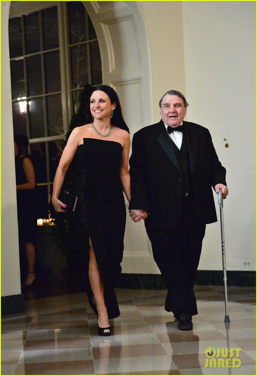 veeps julia louis dreyfus meets the real vp at state dinner 053051819