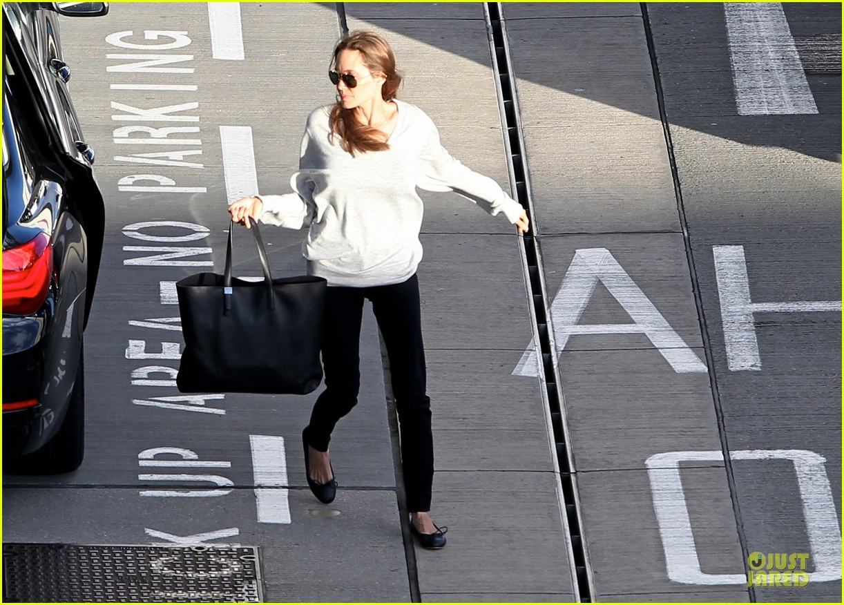 angelina jolie brad pitt post valentines day reunion in london 113053931