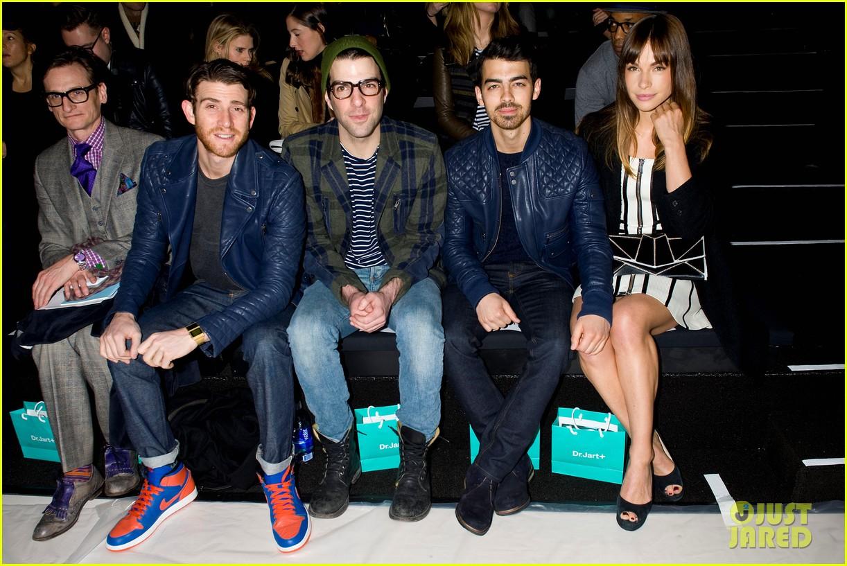 joe jonas colton hanyes richard chai new york fashion show 04