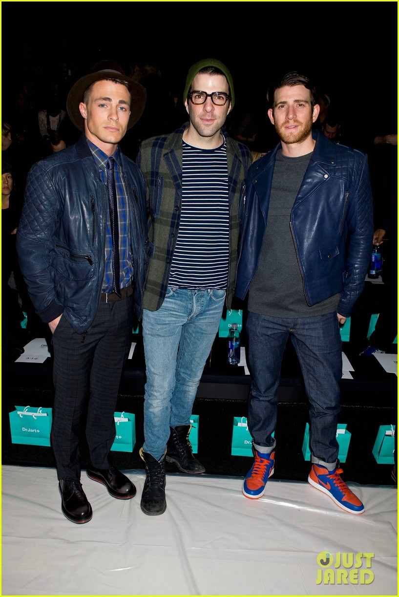 joe jonas colton hanyes richard chai new york fashion show 103048648