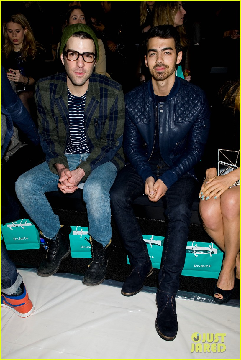 joe jonas colton hanyes richard chai new york fashion show 14
