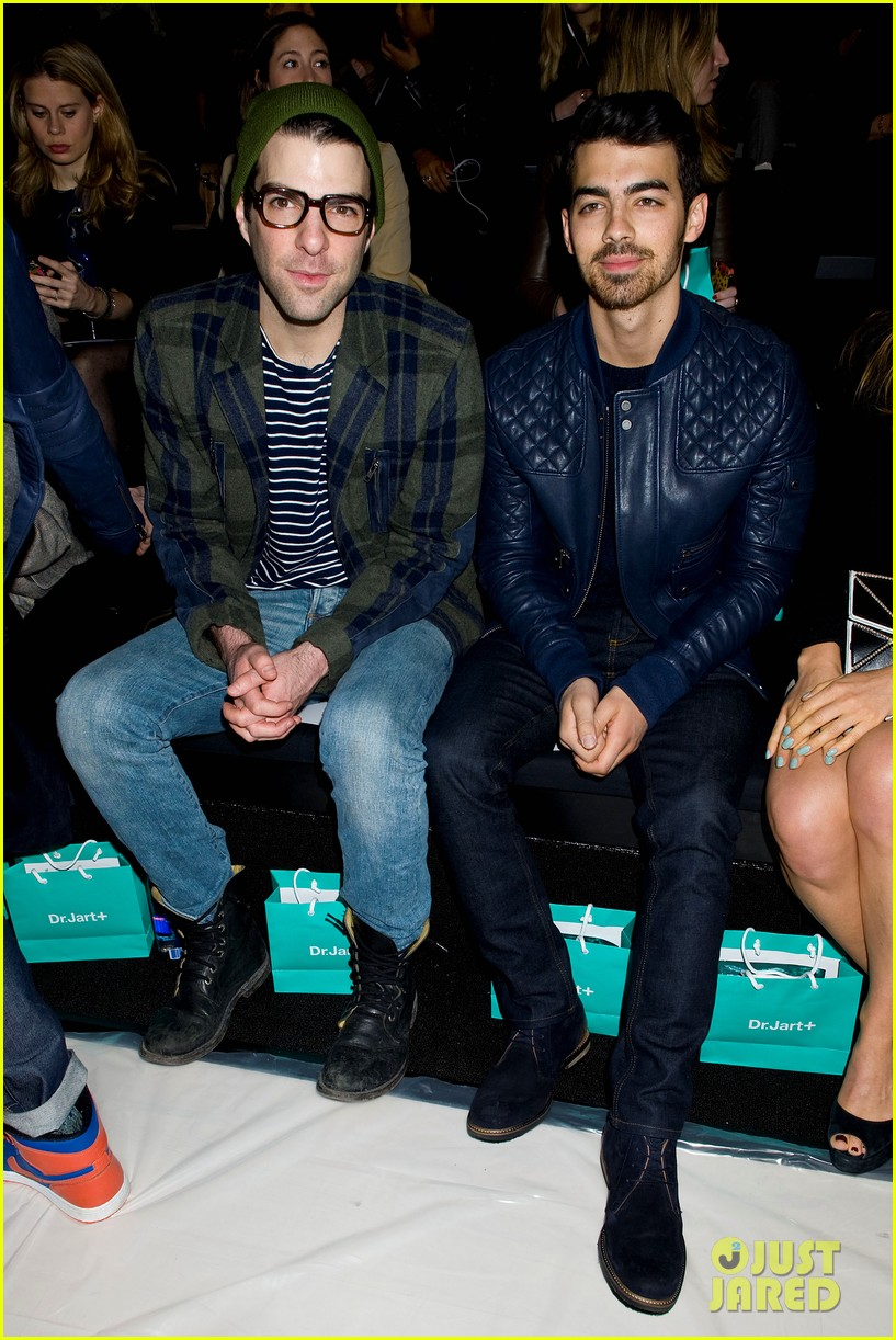 joe jonas colton hanyes richard chai new york fashion show 15