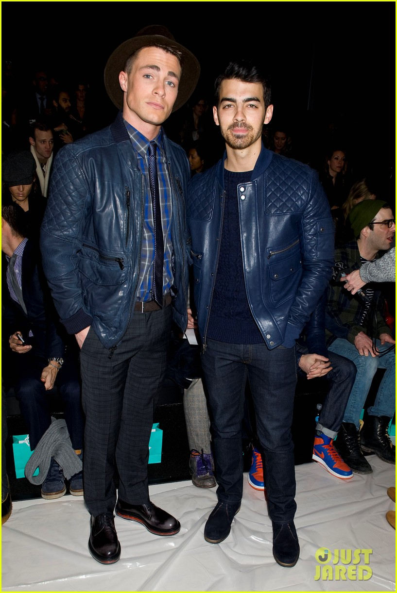 joe jonas colton hanyes richard chai new york fashion show 163048654