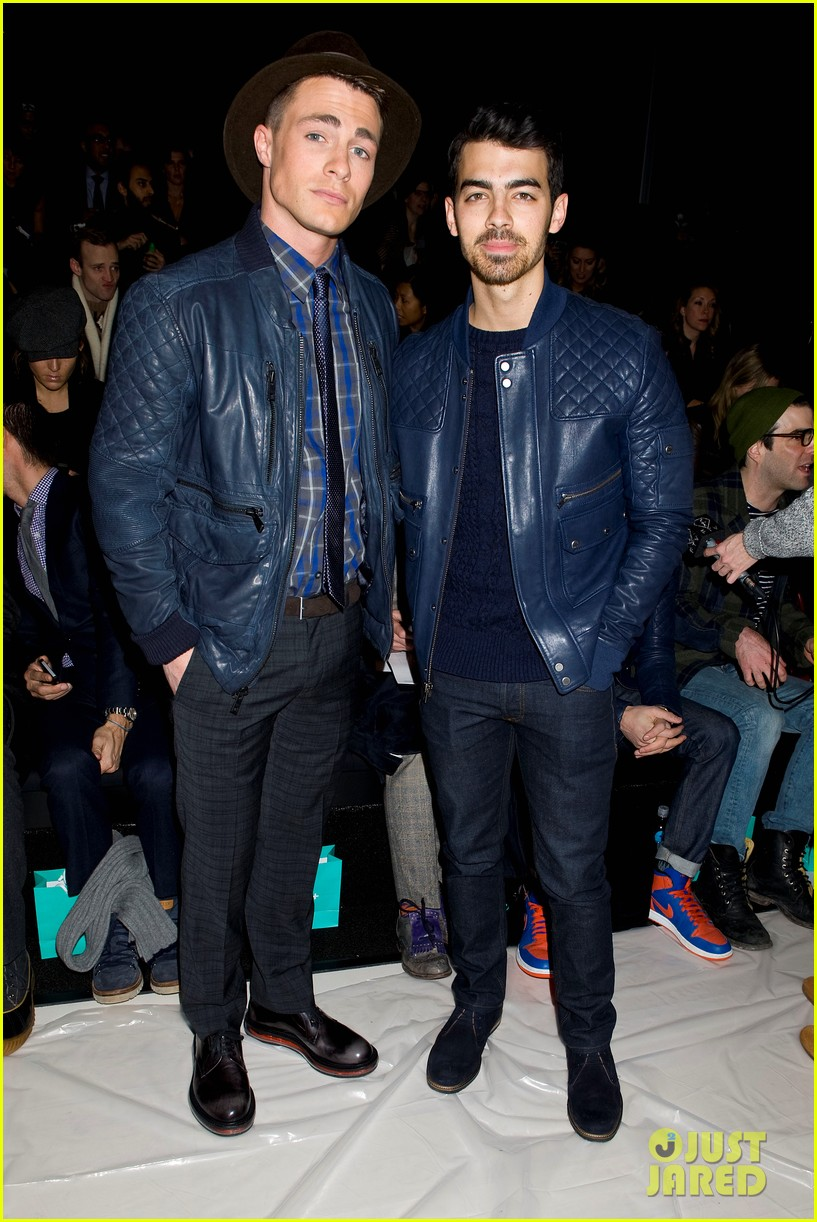 joe jonas colton hanyes richard chai new york fashion show 173048655