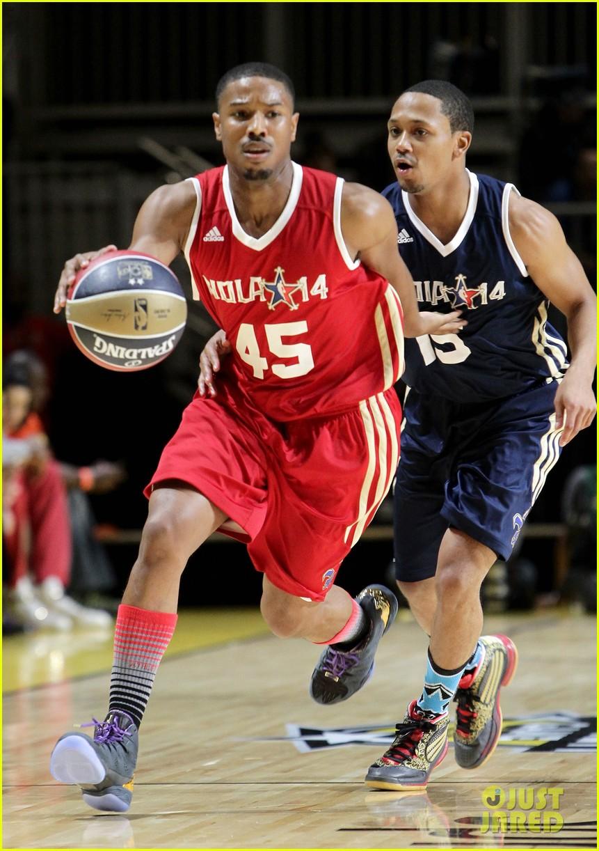 michael b jordan more play in nba all star celebrity game 173054198