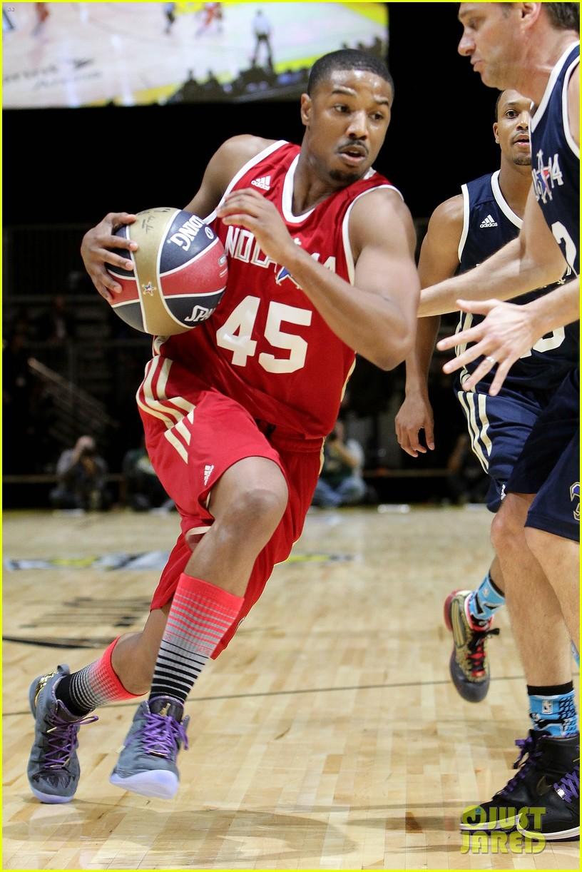 michael b jordan more play in nba all star celebrity game 203054201