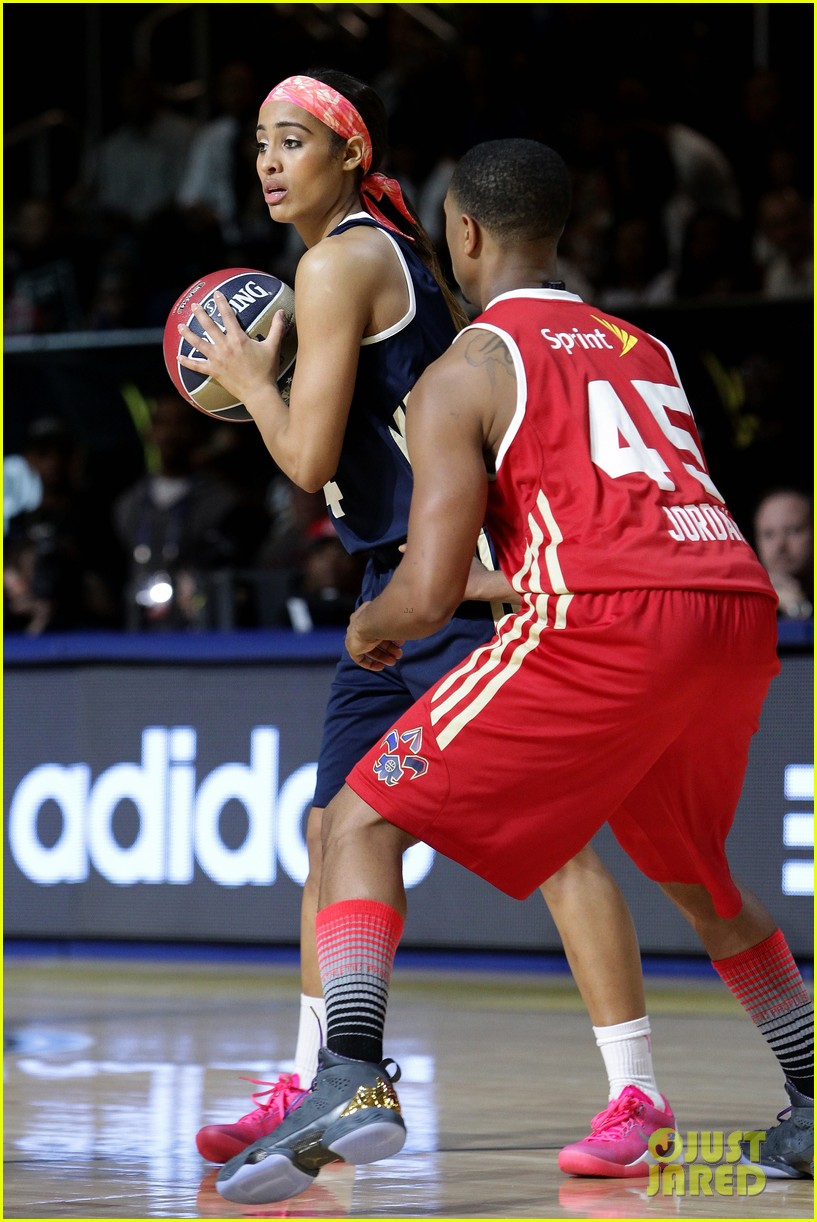michael b jordan more play in nba all star celebrity game 253054206