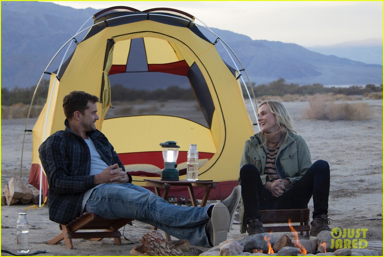 joshua jackson diane kruger survive death valley only on water emitted from their f cell car 023045410