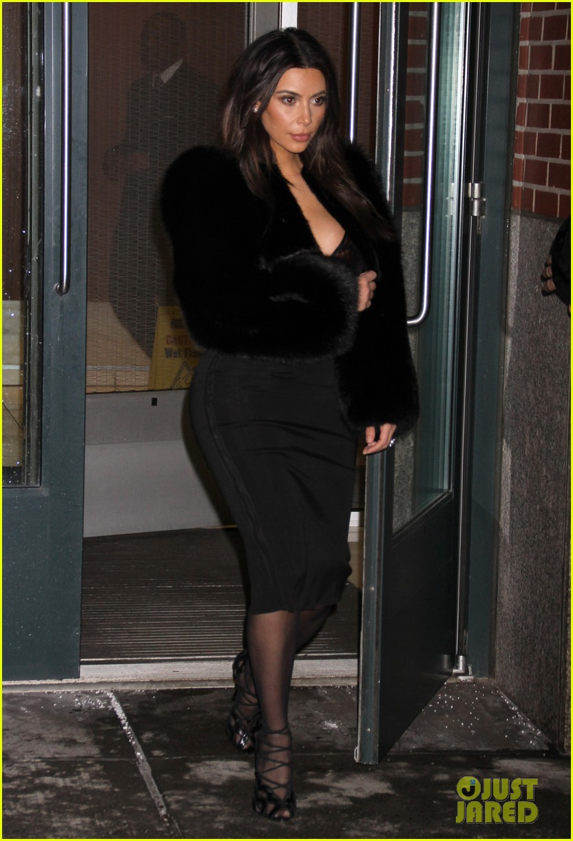 kim kardashian wears low cut top after proposal airs on tv 283054853