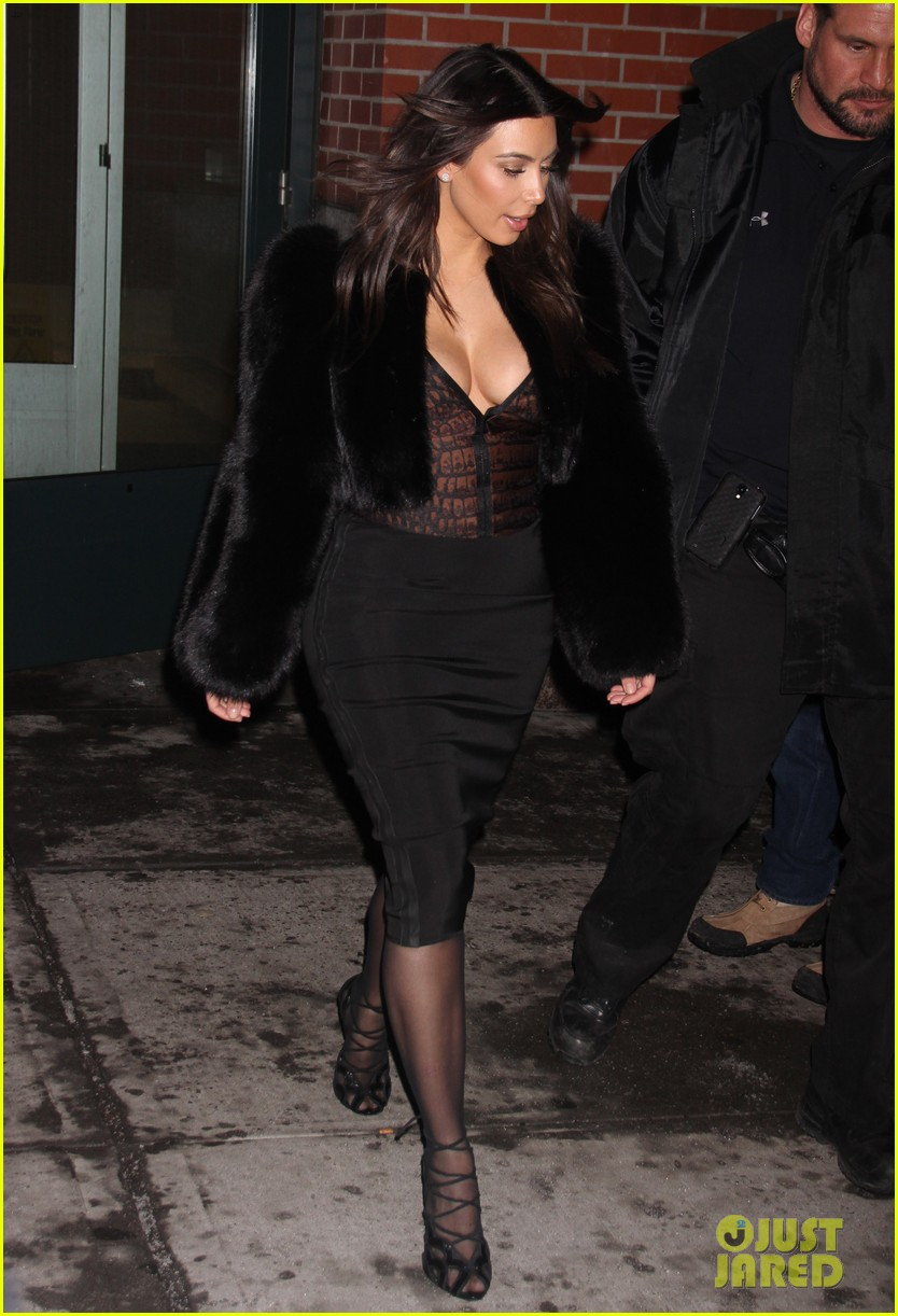 kim kardashian wears low cut top after proposal airs on tv 303054855