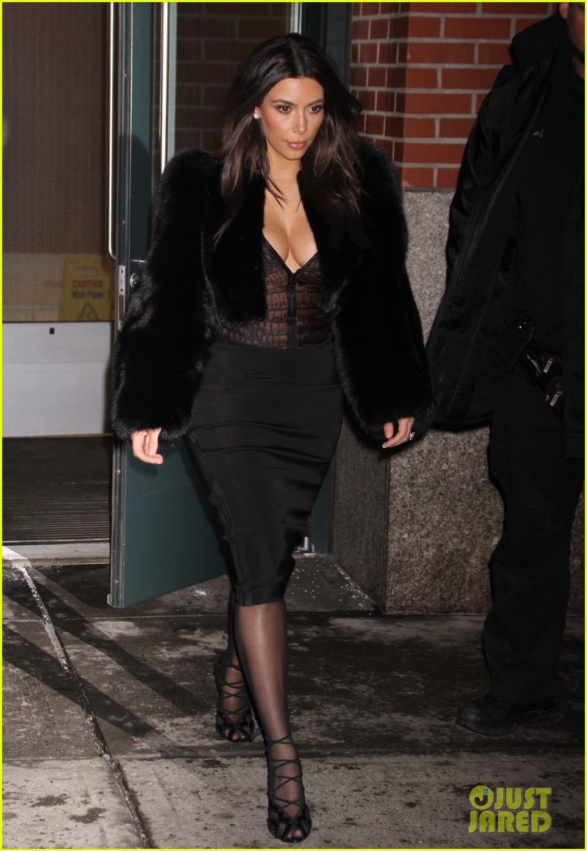 kim kardashian wears low cut top after proposal airs on tv 333054858