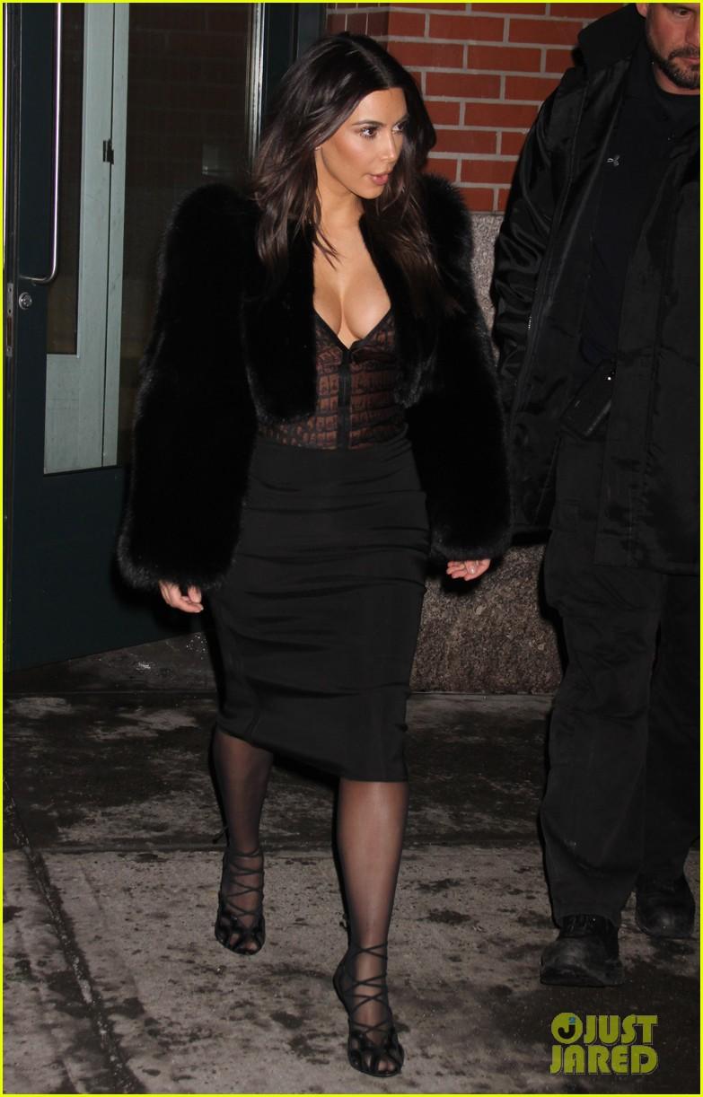kim kardashian wears low cut top after proposal airs on tv 343054859