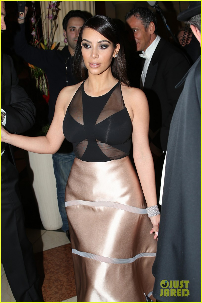 kim kardashian stuns in dress with sheer top at vienna ball 043061894