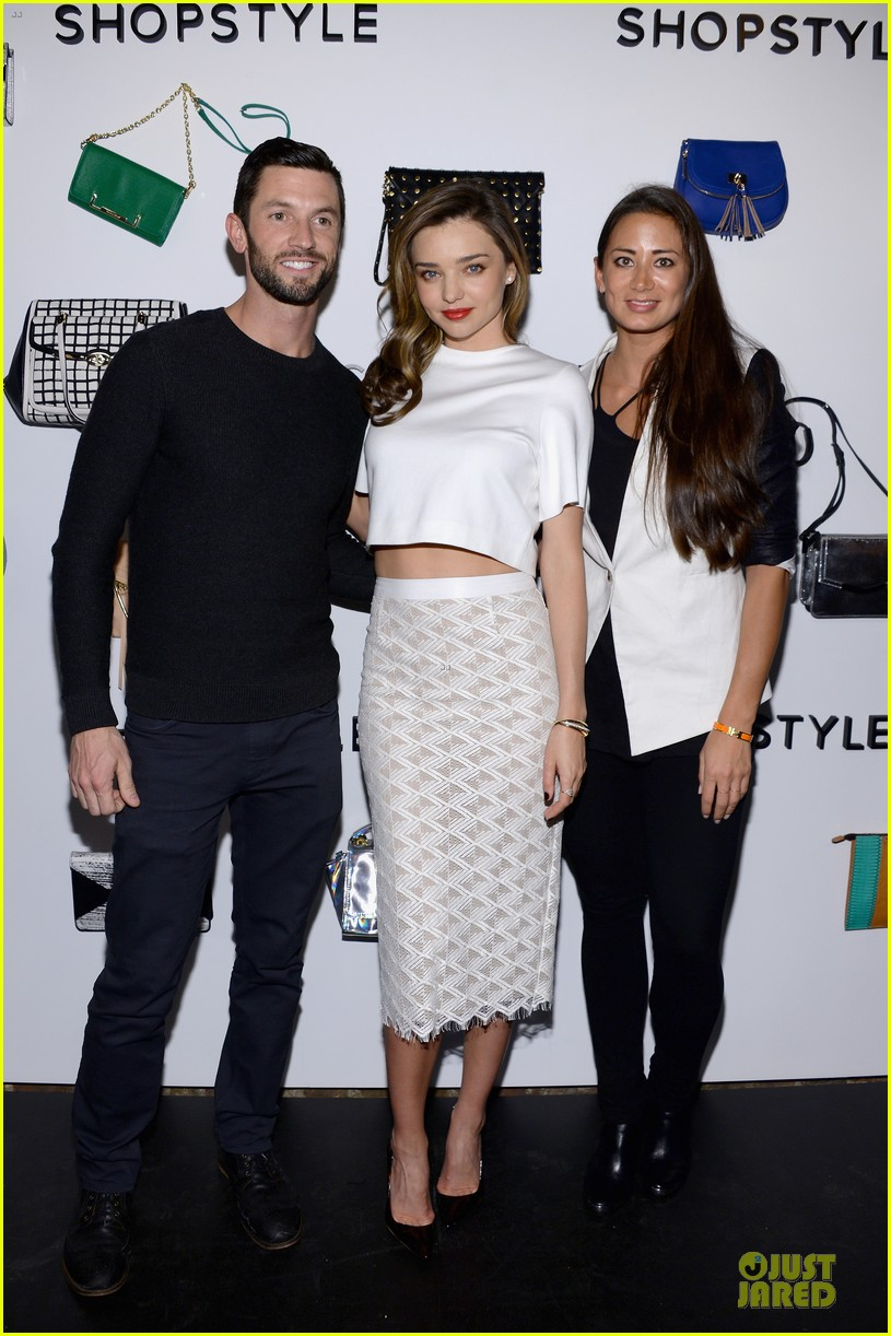 miranda kerr flaunts midriff at we search we find we shopstyle launch 103047132