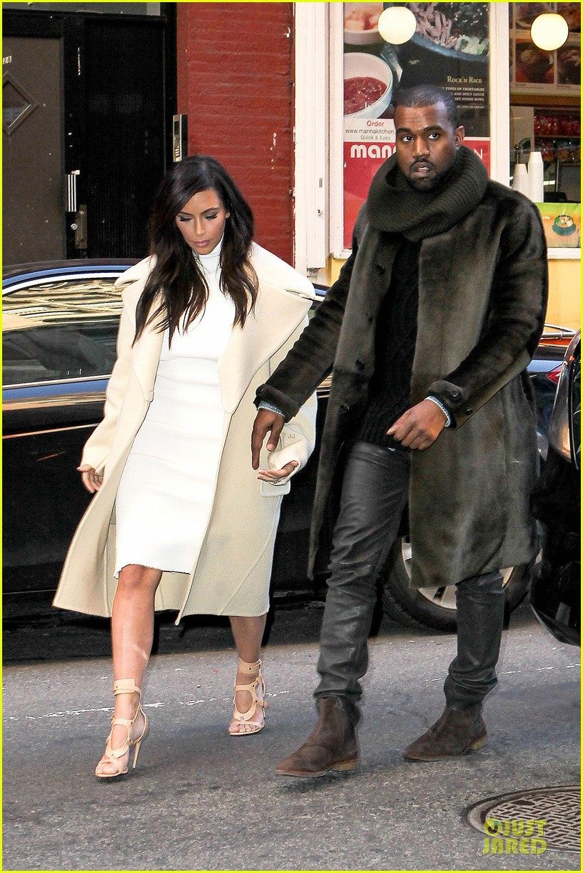kim kardashian kanye west hold hands at abc kitchen 123058550