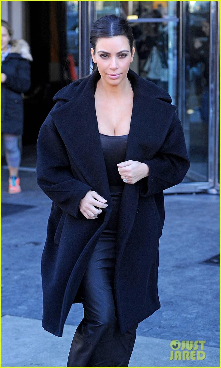 kim kardashian films kuwtk with her sisters khloe sends message on coat fxck yo fur 063055124