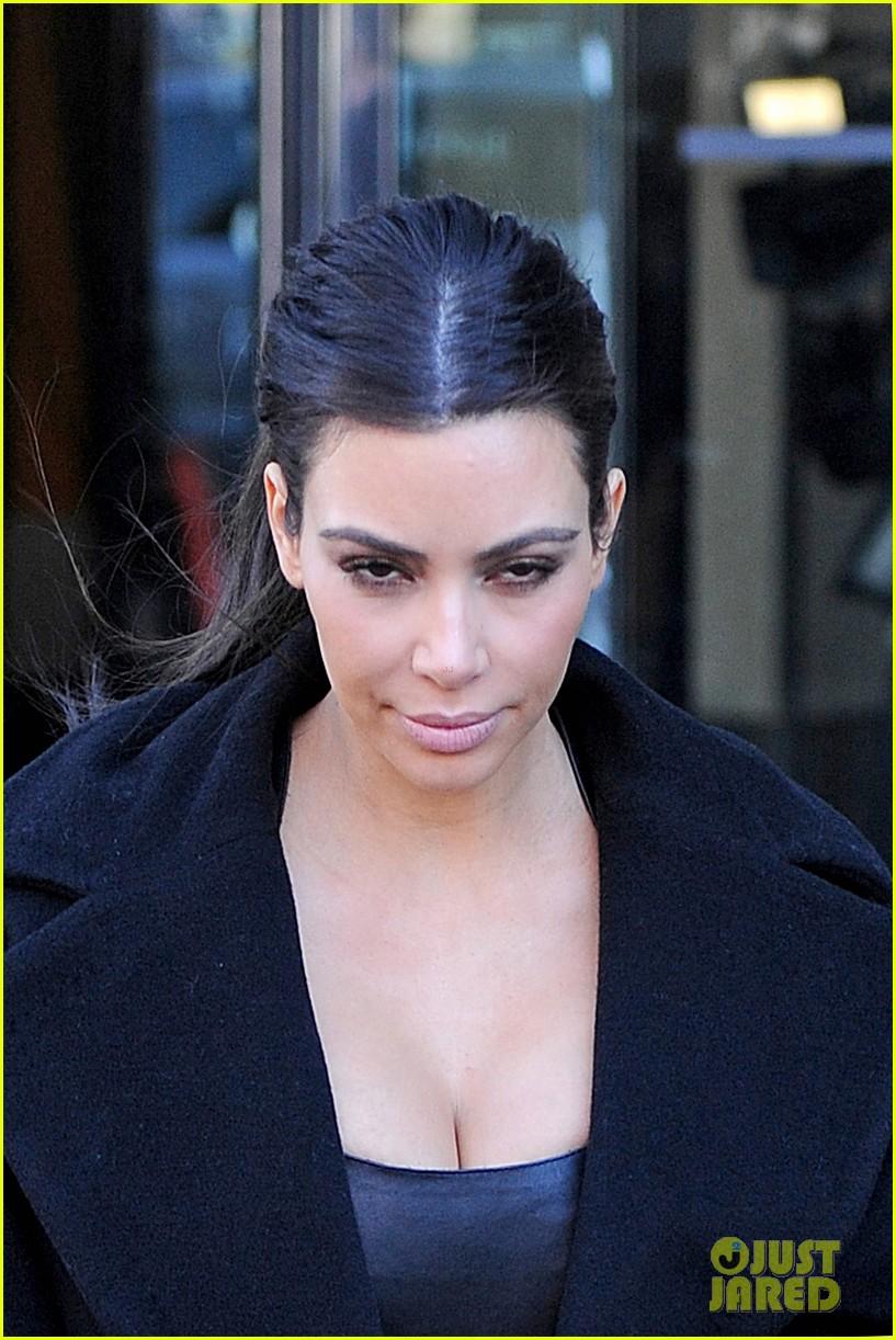 kim kardashian films kuwtk with her sisters khloe sends message on coat fxck yo fur 183055136