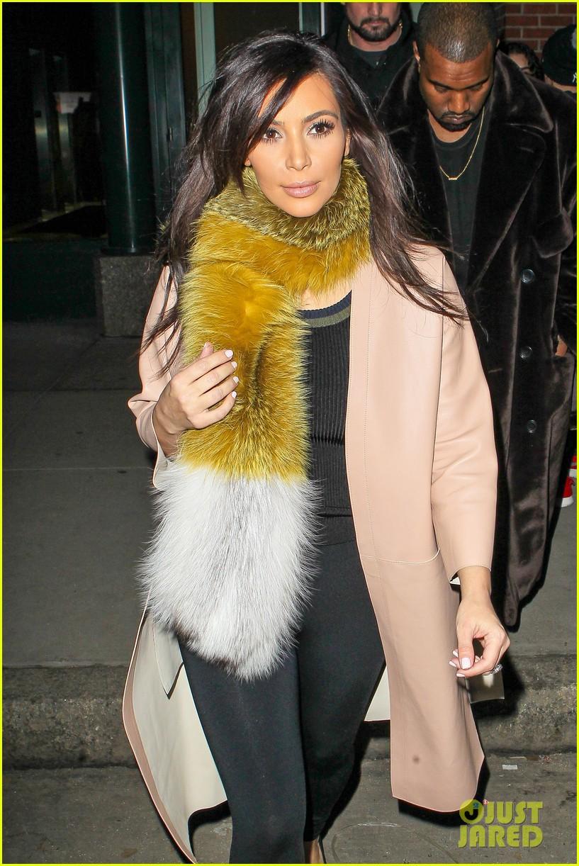 kim kardashian kanye west step out before new kuwtk episode 023059307