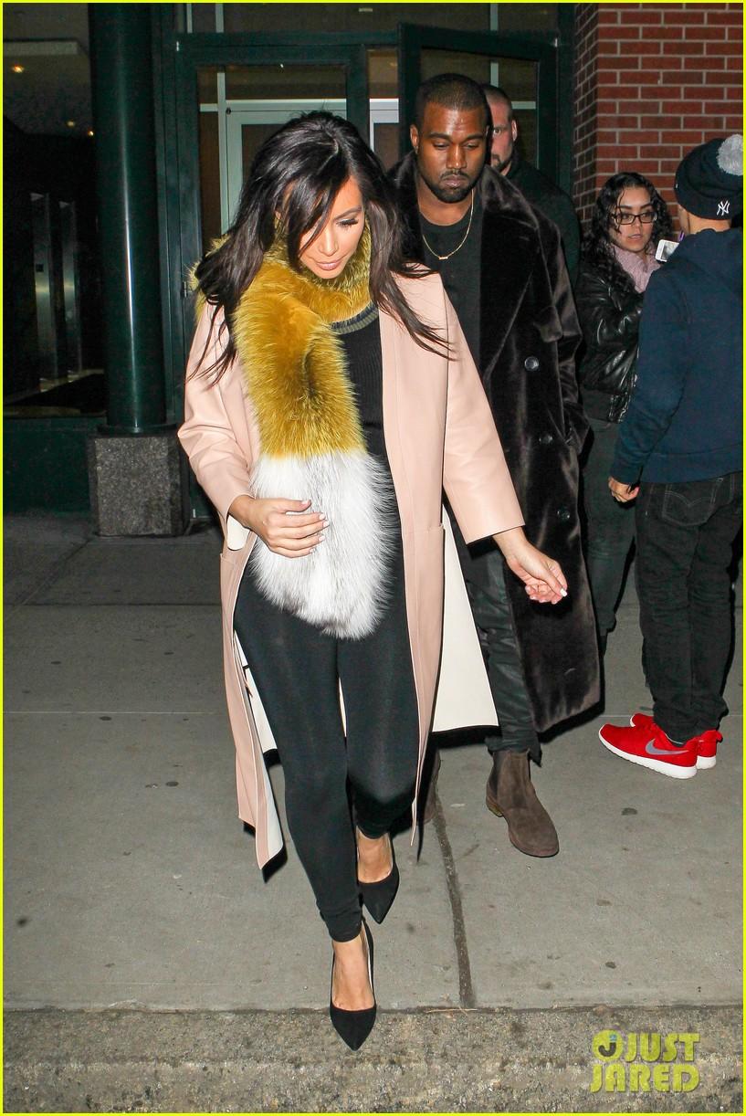 kim kardashian kanye west step out before new kuwtk episode 033059308