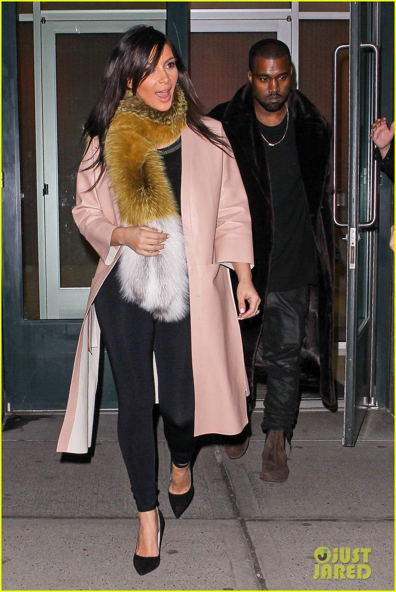 kim kardashian kanye west step out before new kuwtk episode 093059314