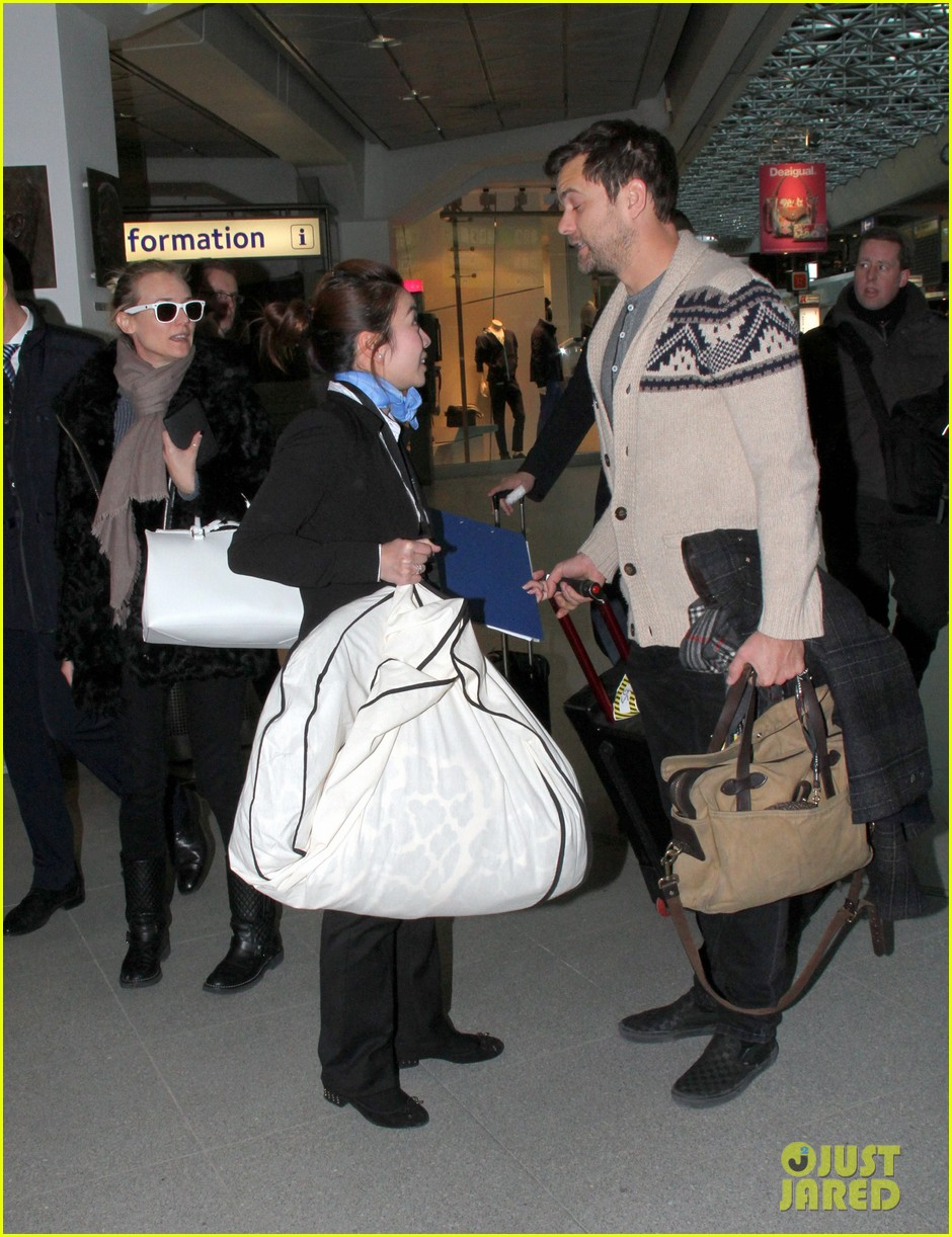diane kruger joshua jackson share a smile while leaving berlin 033051370