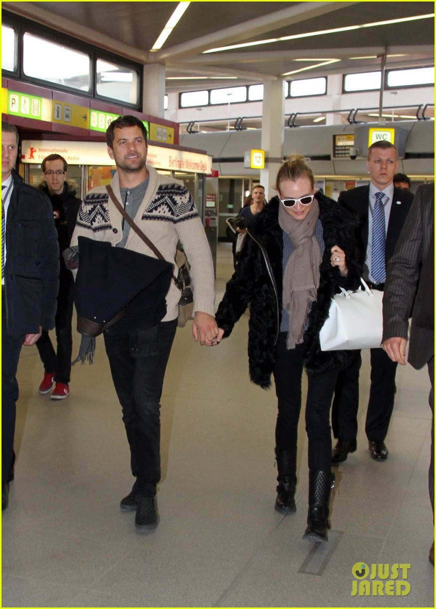 diane kruger joshua jackson share a smile while leaving berlin 063051373