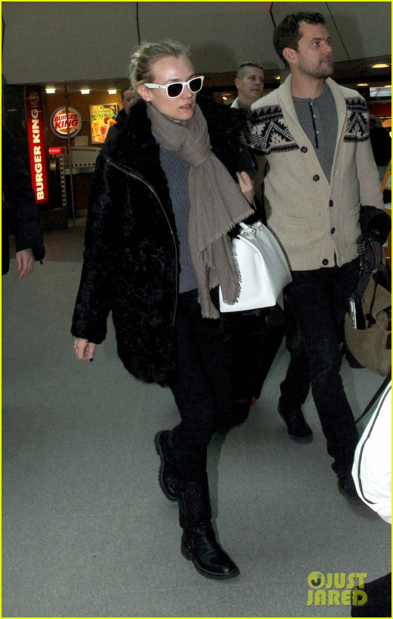 diane kruger joshua jackson share a smile while leaving berlin 093051376