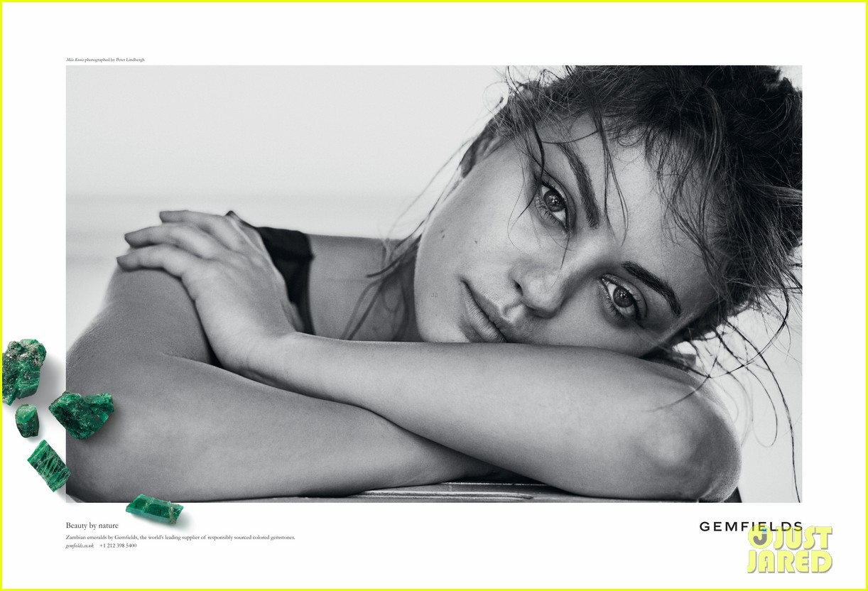 mila kunis celebrates gemfields collaboration with big party 023047450