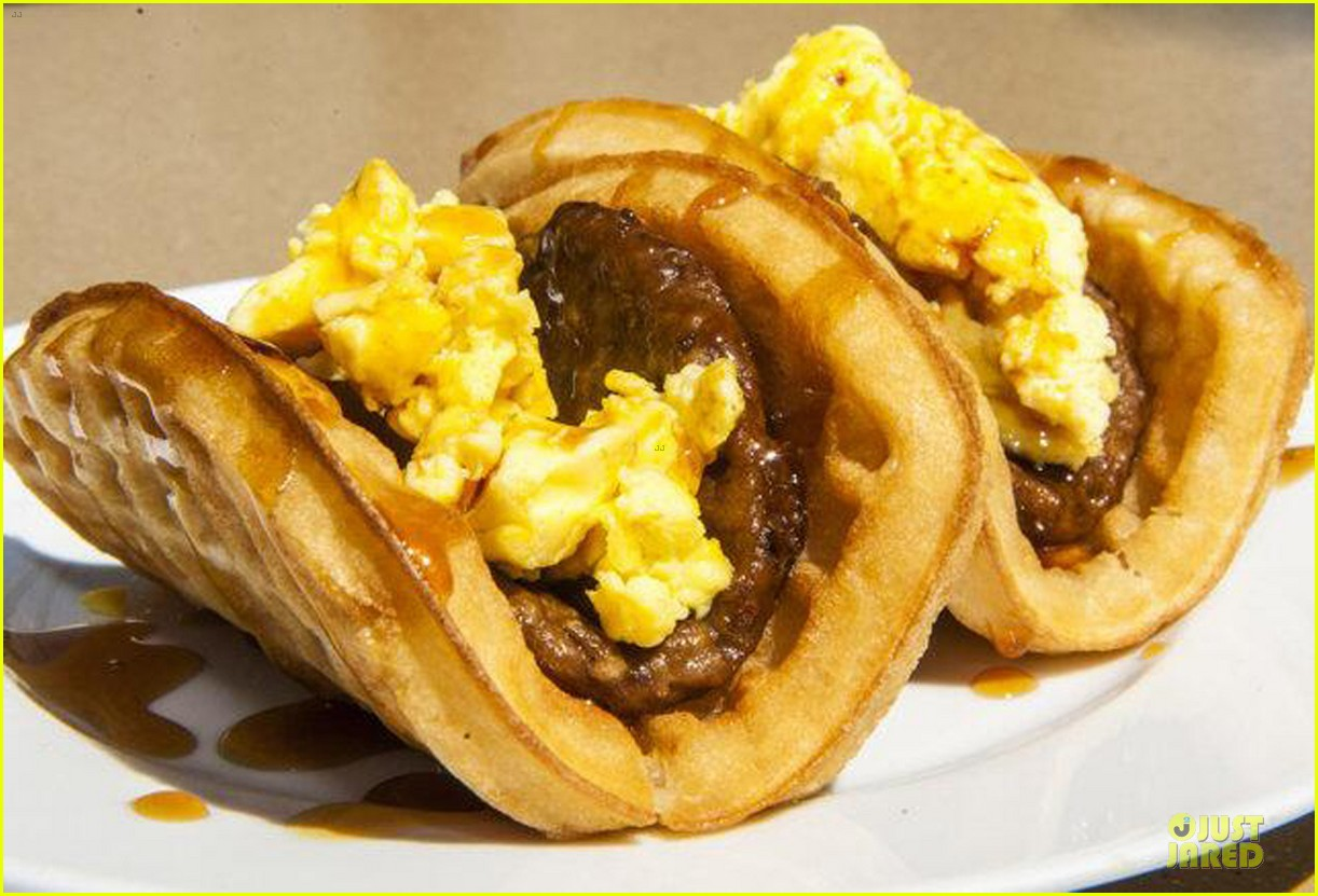 ashton kutcher are you sold on the waffle taco 053060110