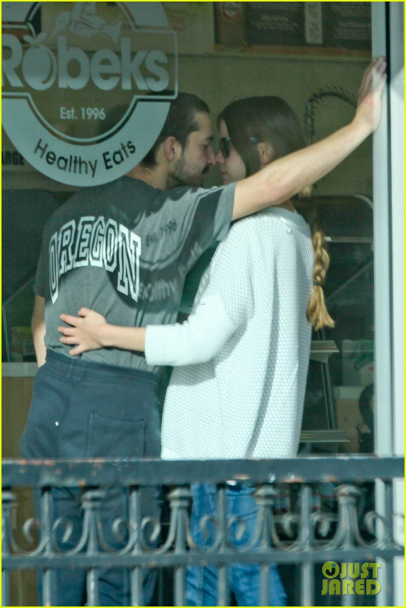 shia labeouf girlfriend mia goth pda pair while shopping 023055251