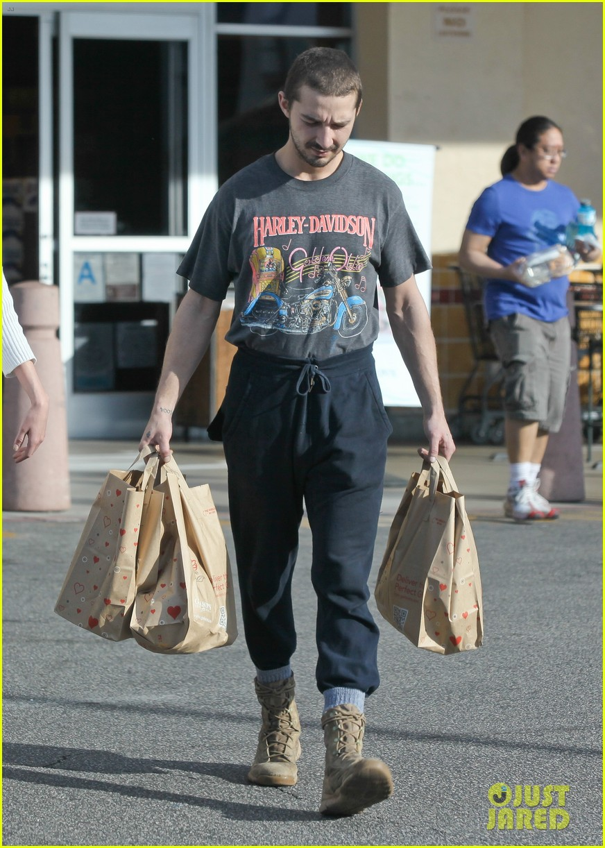 shia labeouf girlfriend mia goth pda pair while shopping 033055252