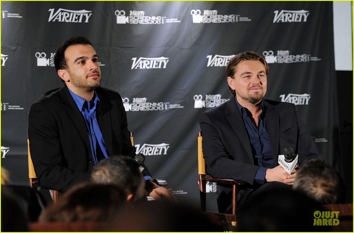 leonardo dicaprio promotes wolf of wall street at variety screening 053047718