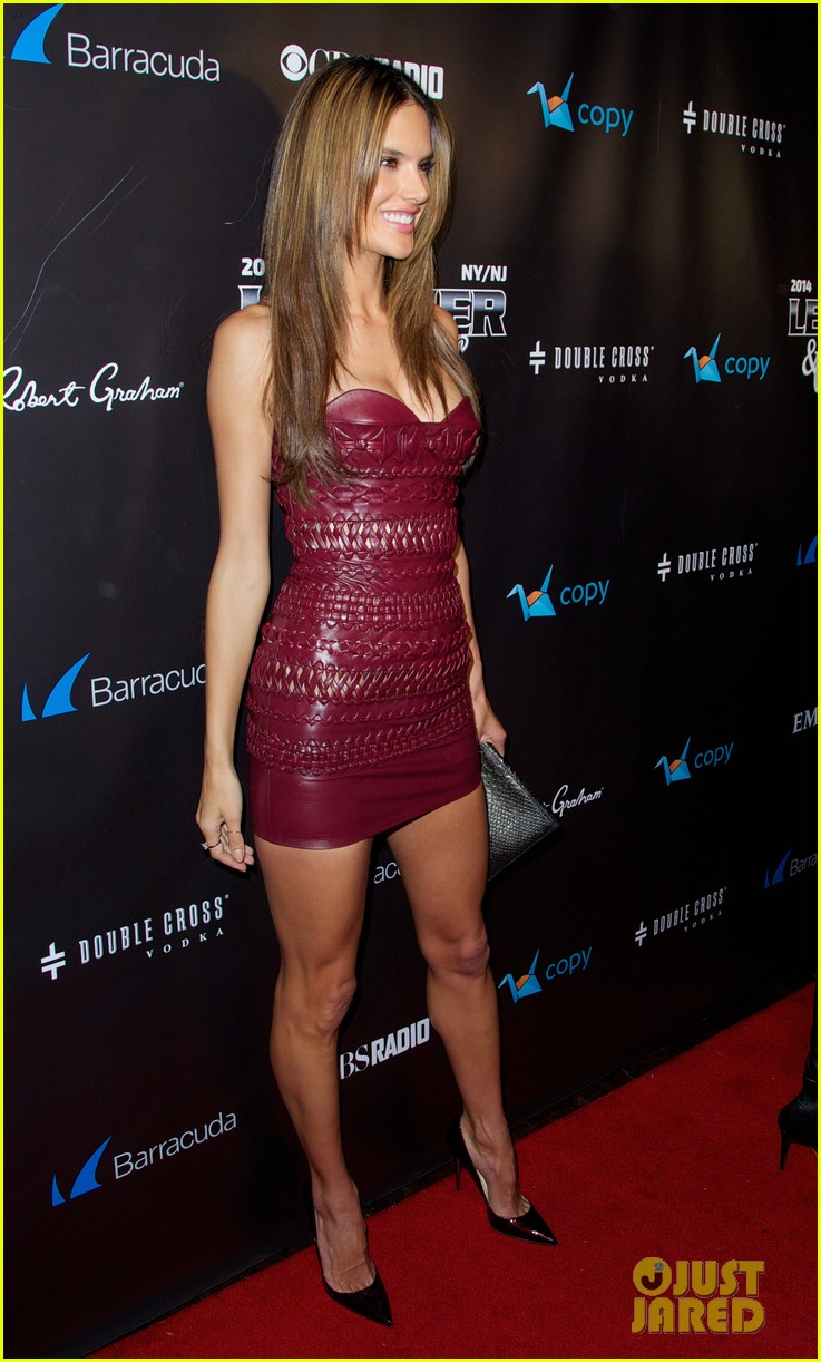 adriana lima alessandra ambrosio leather laces party 093046078