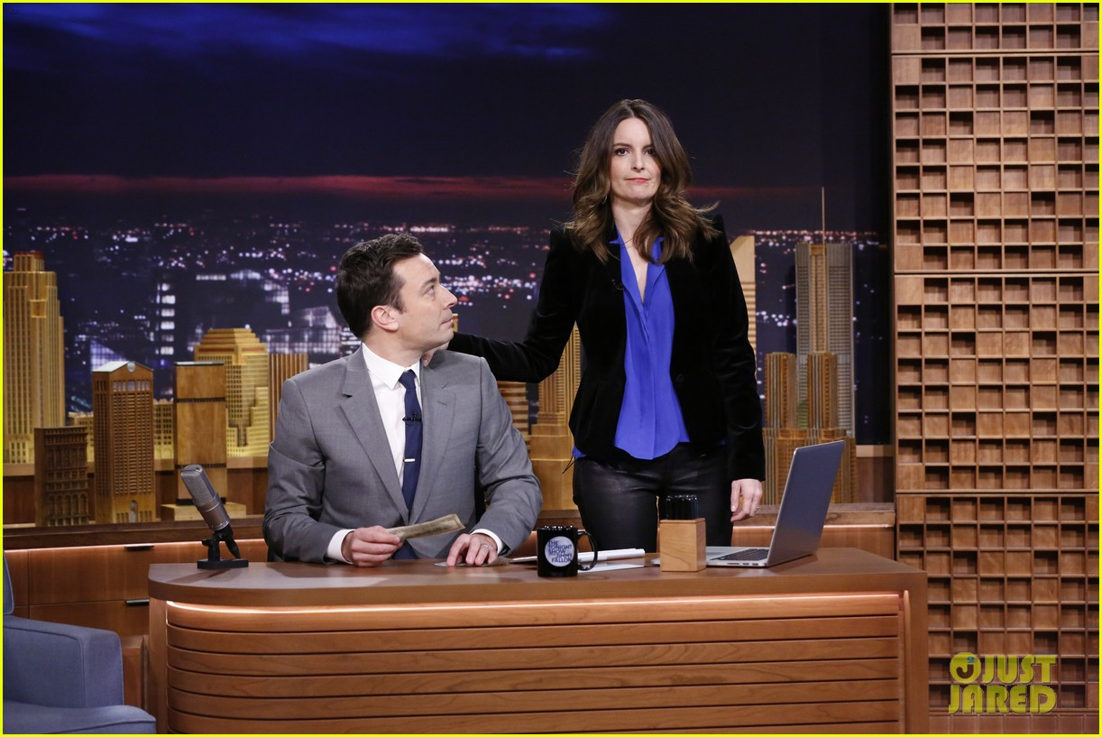 lindsay lohan kim kardashian more surprise jimmy fallon for tonight show debut 053055423