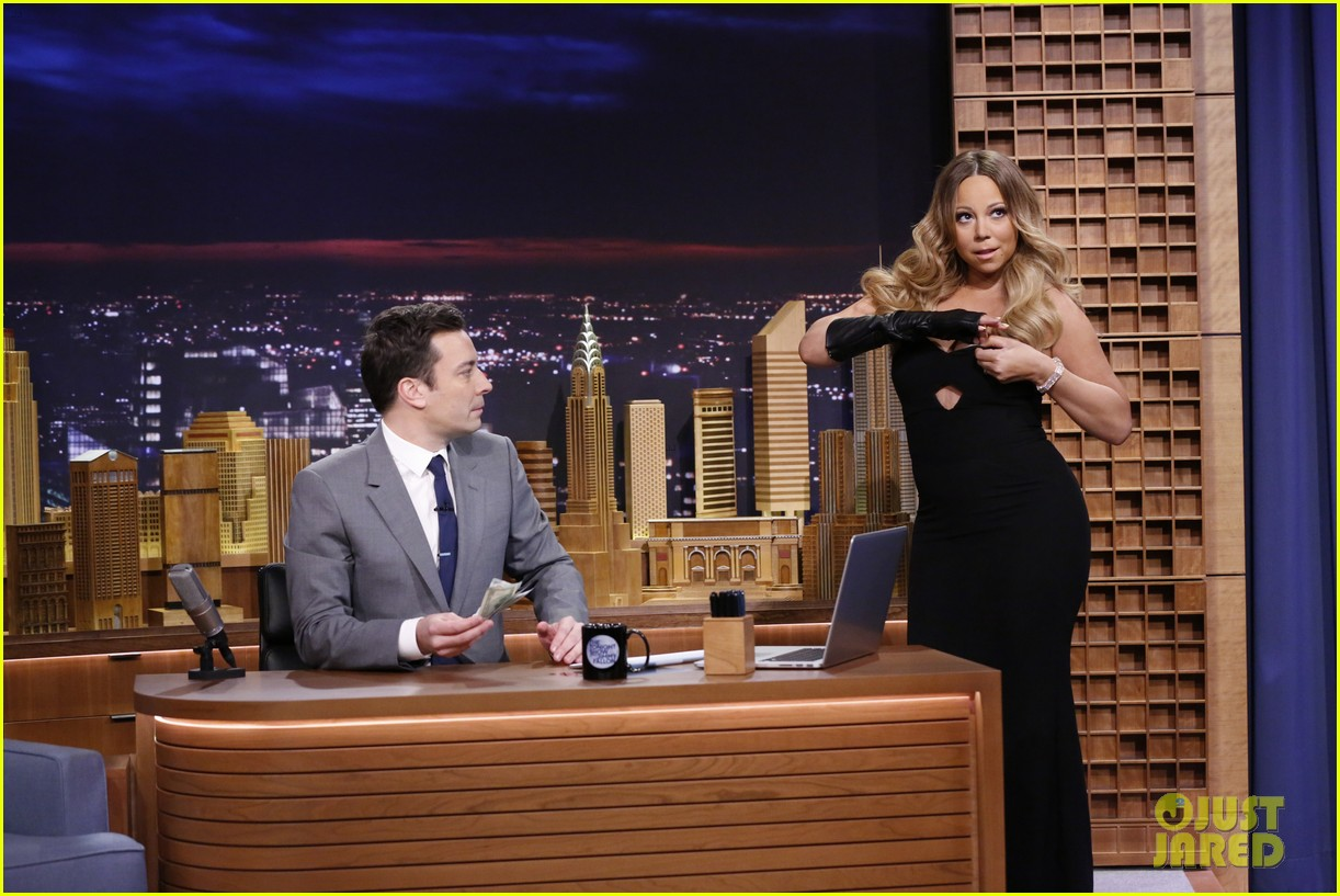 lindsay lohan kim kardashian more surprise jimmy fallon for tonight show debut 09