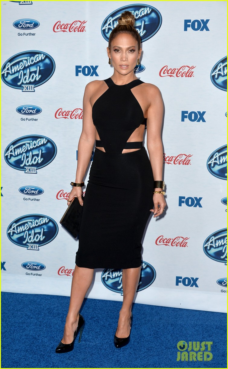 jennifer lopez american idol top 13 celebration 023057579