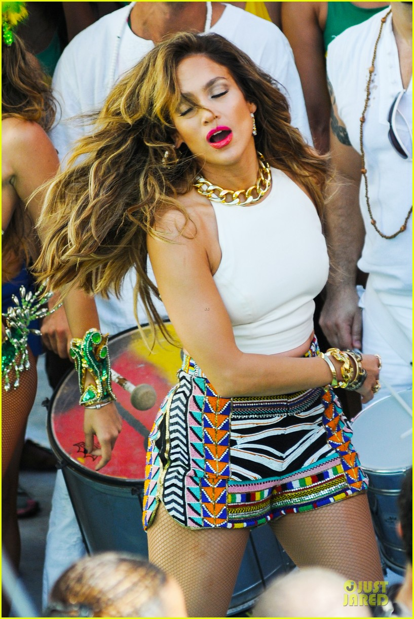jennifer lopez shoots vibrant world cup music video 063051549